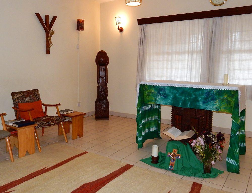 Chapel in Africa
