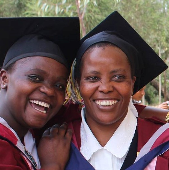 Sister from the Province of Africa graduates