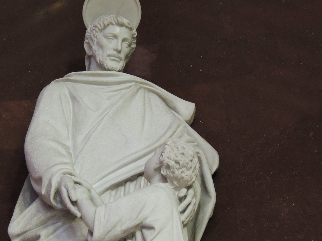 Posągi Kaplicy Generalnej: Józef robotnik
