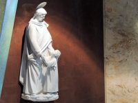 Generalate Chapel statues: Joseph the worker