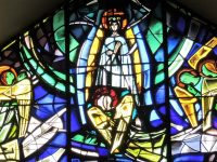 Generalate chapel window