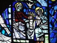 Generalate chapel window