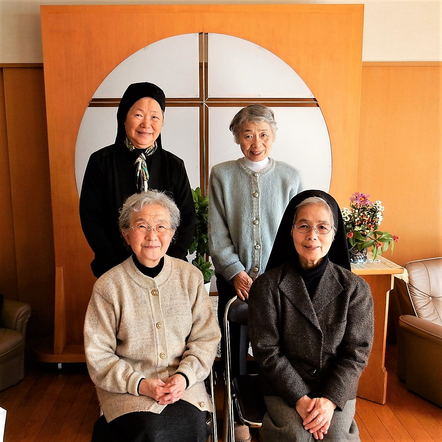 Community at the house of prayer, Otsu, Japan