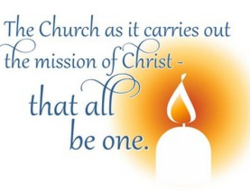 December 24: The Church  as it carries out the mission of Christ – that all be One