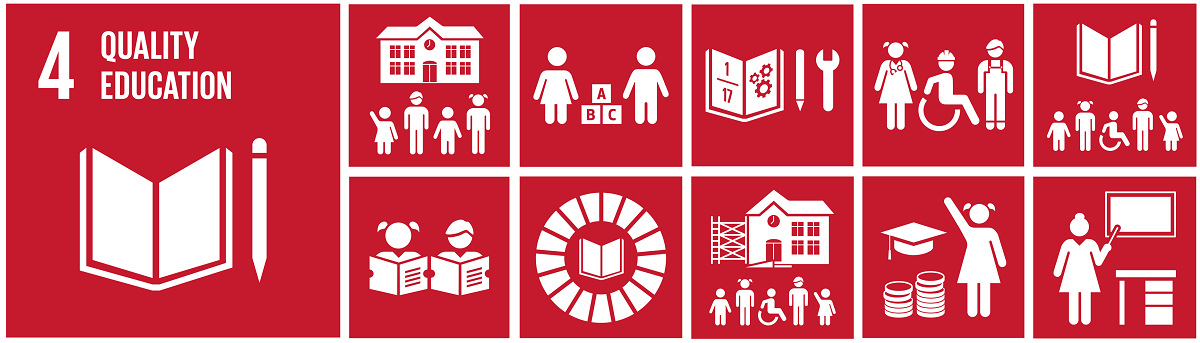 SDG 4: Education. Graphics from Global Goals
