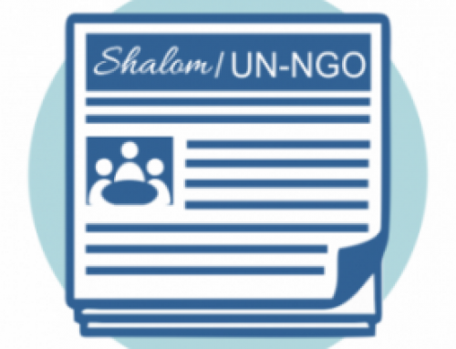 August 2021 Issue 2 Shalom/ UN-NGO Newsletter