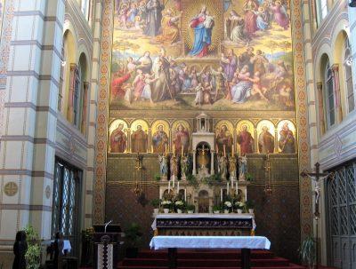 OR-IT motherhouse chapel, Vienna, Austria