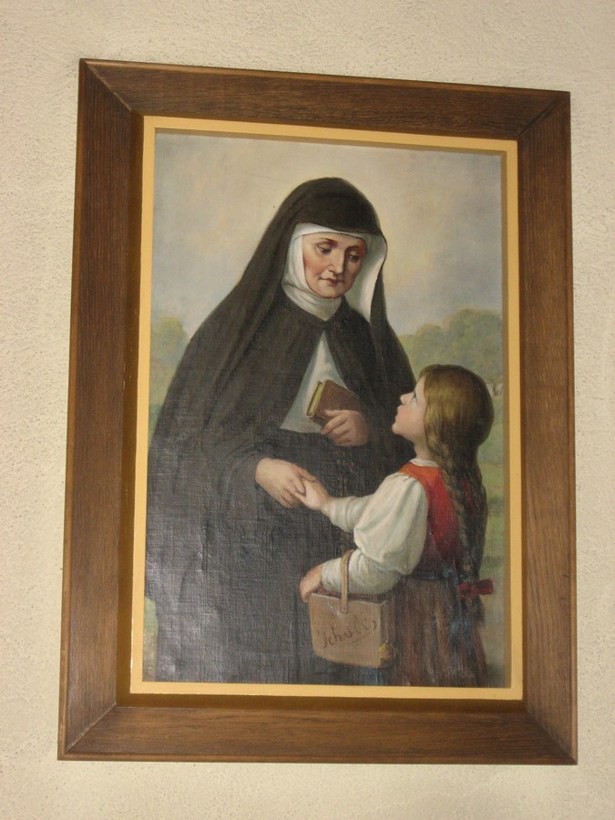 Painting of Mother Theresa by Josef Kastner