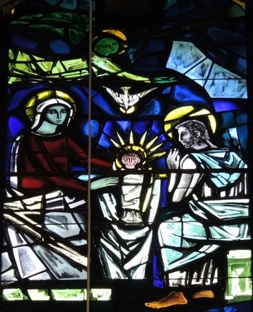 Nativity - Generalate chapel window