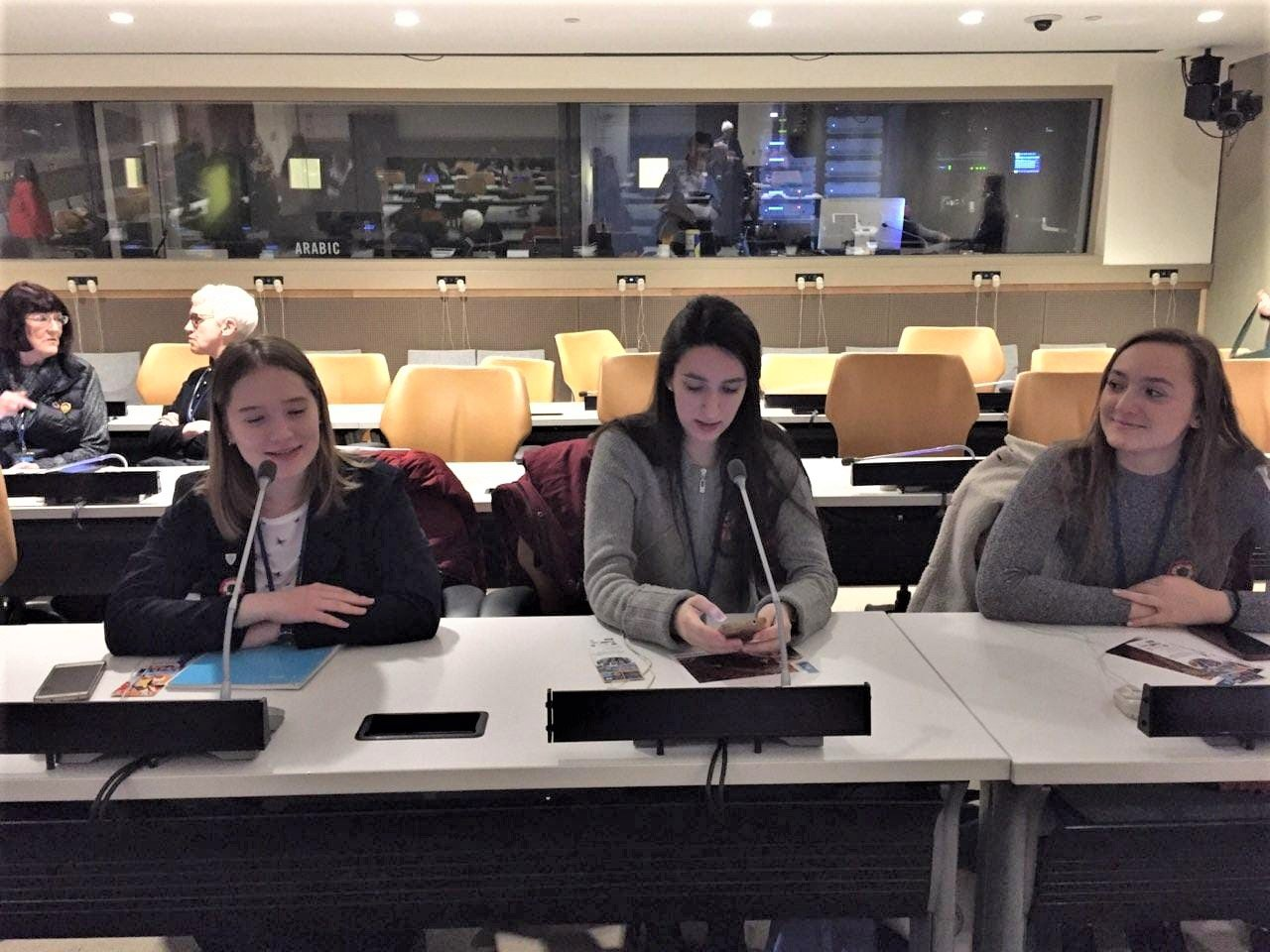 Bori tries out the equipment before a session at CSW63.