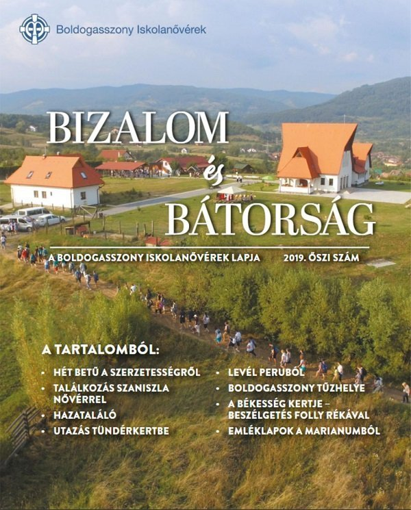 Cover of the 2019 edition of Bizalom és Bátorság (Trust and Dare)