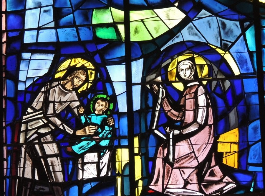 Holy Family - Generalate chapel window