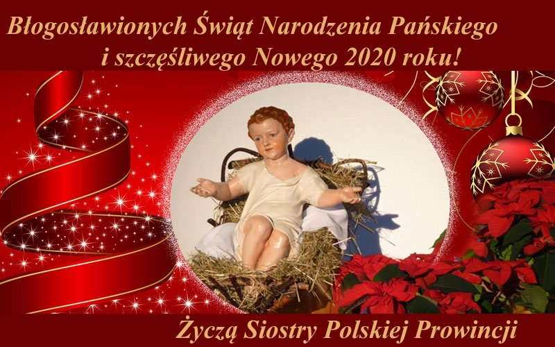 Christmas greeting from the Polish Province