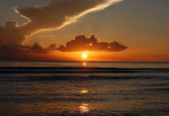 Wschód słońca Zachód słońca