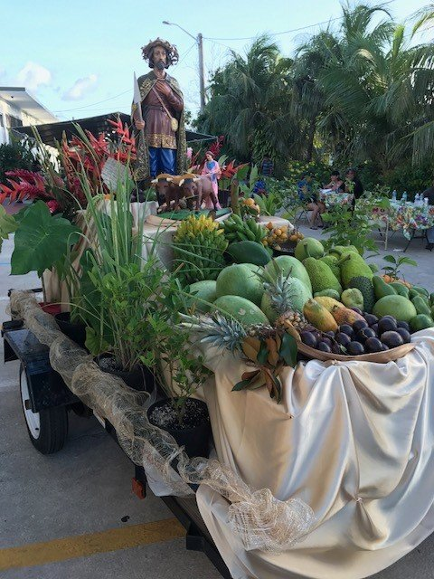 Harvest Parade on Guam